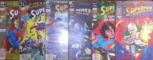 Superman el hombre de acero numeros sueltos vid