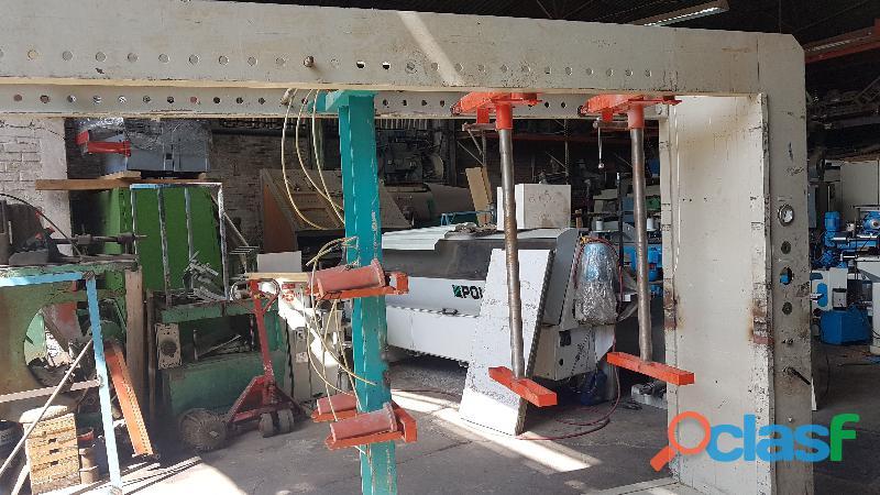 Prensa armadora de cuerpos Ocmac 550 cm 16 pistones 6