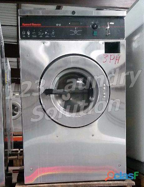 Speed queen lavadora de carga frontal comercial scn020gc2ou1001 usada