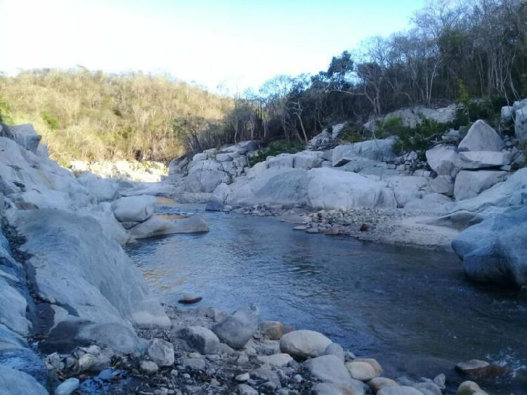 400 hectareas de terreno frente al rio y a 1 hora de bahias
