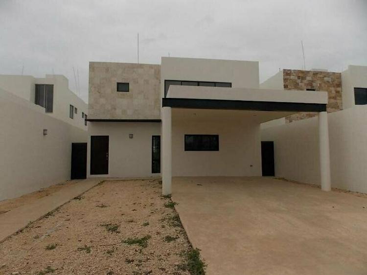 Privada arbórea (mod paraiso)casa en venta conkal, mérida
