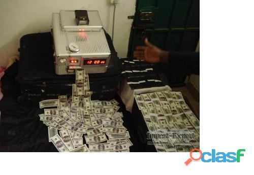 Solución ssd para limpiar billetes de banco negros y desfigurados