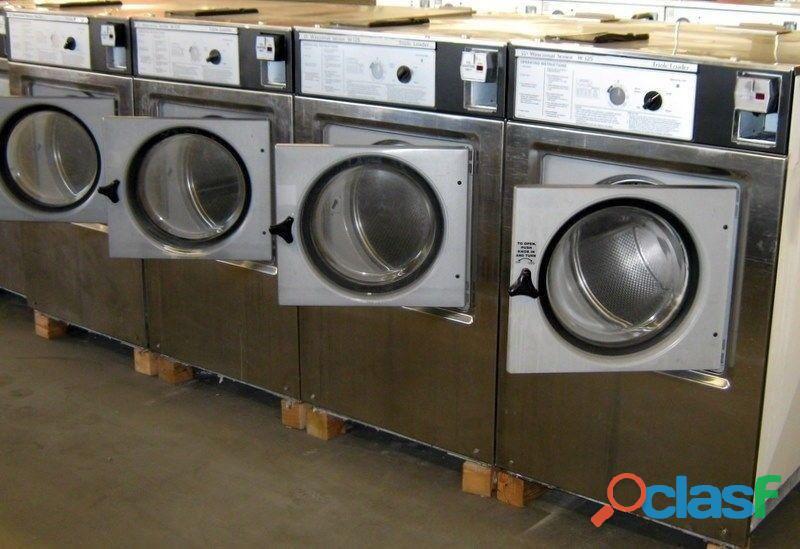 Wascomat lavadora de carga frontal comercial w125 1ph usada