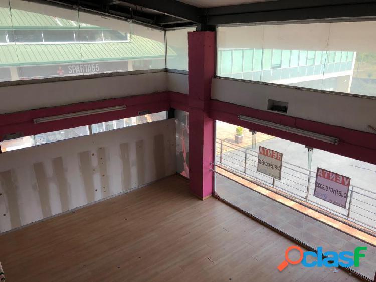 """plaza paseo la rioja carr. nal"" 339 mts2 local comercial doble altura con mezzanine en venta."