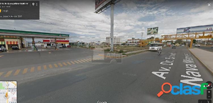 Terreno comercial en renta en El Paseo, San Luis Potosí, San Luis Potosí
