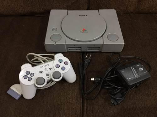 Consola playstation 1 fat / psone completa en buen estado