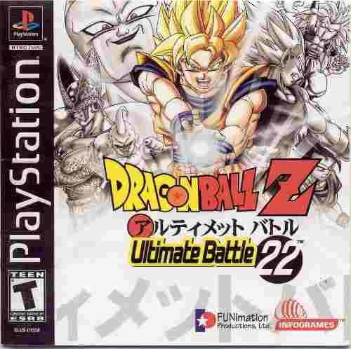 Dragon ball z ultimate battle 22 para ps1 nuevo sellado