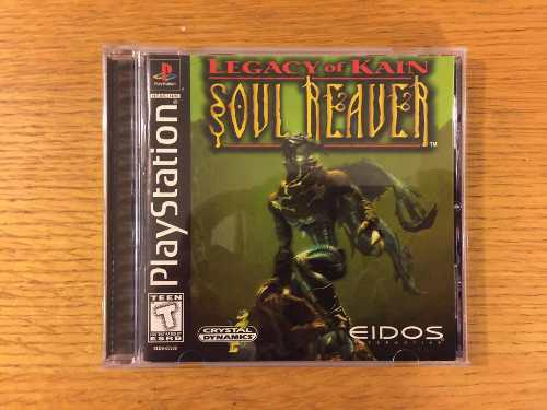 Legacy of kain soul reaver ps1 ps2 ps3 playstation 1