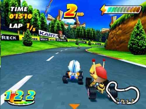 Speed freaks ps1 psx para jugar en android (: