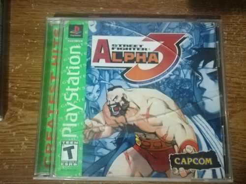 Street fighter alpha 3 playstation