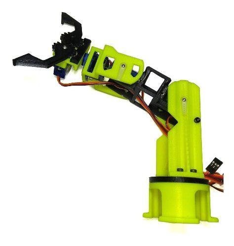 Chasis brazo robótico (sin servos) bluetooth arduino