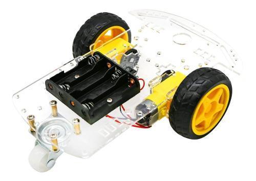 Chasis de carro kit arduino, 2 llantas !
