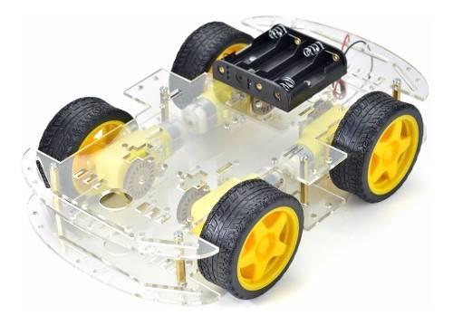 Chasis de carro kit arduino, 4 llantas !