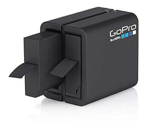 Gopro cargador bateria dual + pila hero4 black silver eg