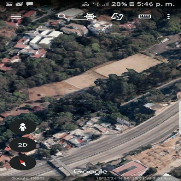 Venta de terreno de 26,353 m2 uso de suelo mixto zona lomas