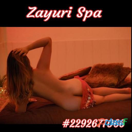 El momento perfecto es disfrutar un delicioso Masaje Erotico en Zayuri Spa.