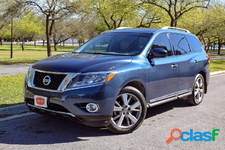 Nissan pathfinder exclusive 2013