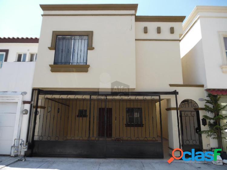Casa en renta en monterrey zona escobedo col. privadas de anáhuac sector mediterraneo