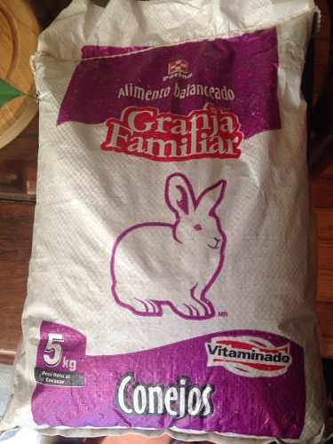 15 kg alimento conejina purina conejos cobayos cuyos roedor