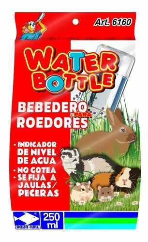 Bebedero antigoteo hamster conejo ratón, cuyo 250 ml 6160