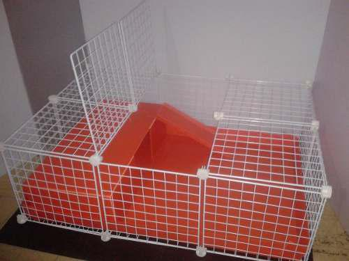Jaula desarmable p/ cuyo huron conejo modelo c3