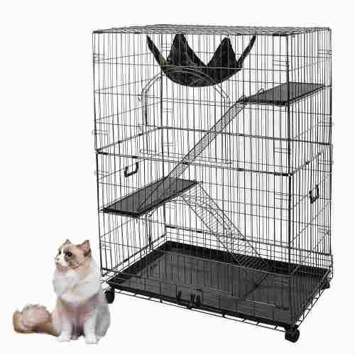 Jaula grande para gatos conejo,hurón,,erizos,roedores
