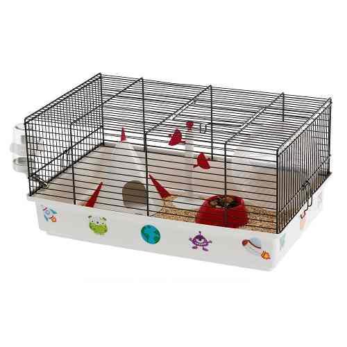 Jaula hamster ferplast criceti espacial 46x29.5x23cm
