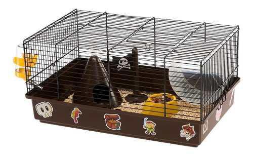 Jaula hamster ferplast criceti piratas 46x29.5x23cm c/envío