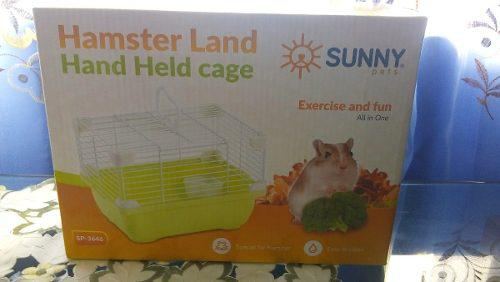 Jaula hamster land adventure 24x18x16cm raton hogar