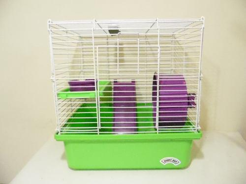 Jaula hamster mascota super pet 36x34x28cm j180
