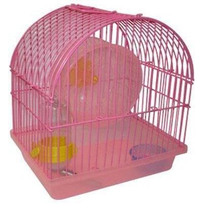 Jaula para hamster chica incluye;
