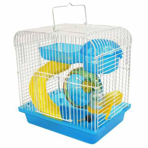 Jaula san francisco azul hamster base plastica rata redkite