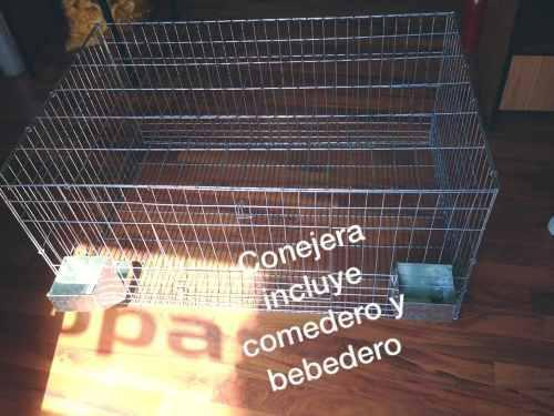 Jaulas para conejos,cuyos incluye comederos beberos conejo