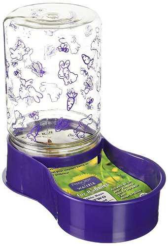 Lixit cuidado de animales alimentador de conejo / fuente de