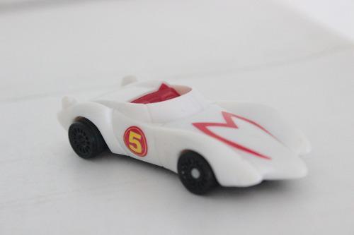 Mach 5 vehículo meteoro speed racer miniatura