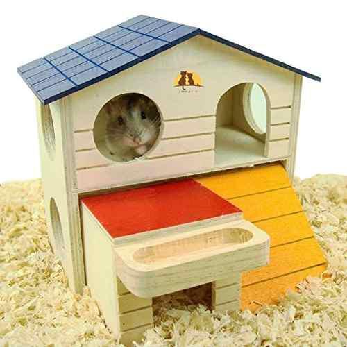 Mascota de pequeños animales escondite del hámster casa de