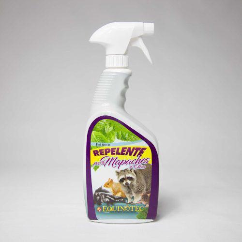 Repelente para mapaches y otros animales equinotec (1 litro)