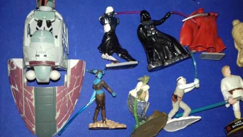 Star wars miniaturas colección 11 piezas rebaja