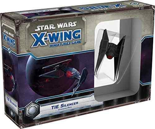 Star wars x-wing: disco de expansión tie silenciador