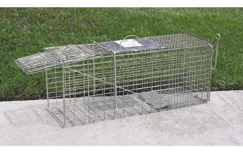 Trampa para animales roedores 38x81x25cm
