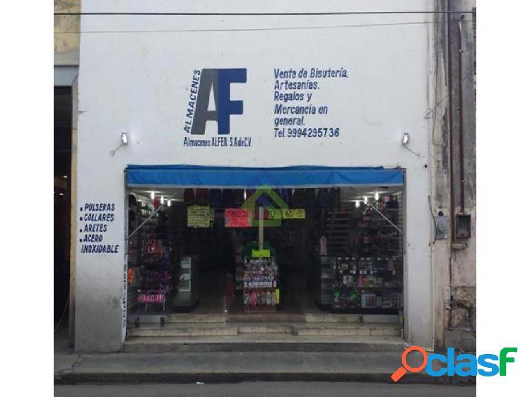 Local comercial en renta en el centro de mérida