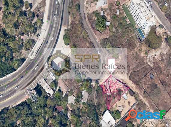 terreno en venta 563m2T, puente de la loyola acapulco