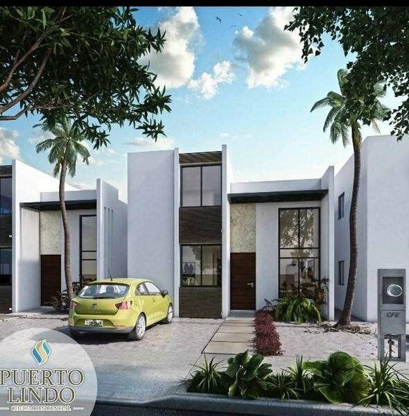 Casa en venta puerto lindo chelem yucatan mod coral