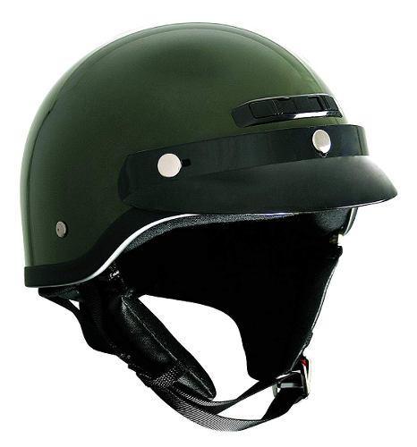 Ckx 345495 vg -500 equitación mitad casco, verde, medio