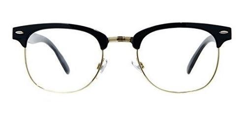 Gafas de sol clásicas con montura de media montura, estilo