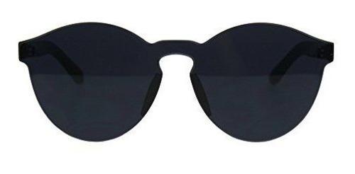 Gafas de sol con montura de policarbonato macizo sin montura