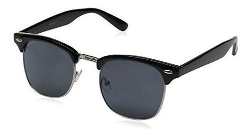 Gafas de sol con montura semi-sin bordes y semi-montura zero