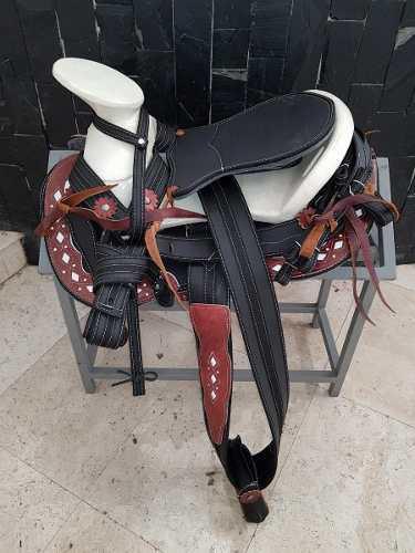 Montura para caballo silla charra cola pato cr envío gratis