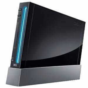 Consola wii negra retrocompatible equipada juegos de gc