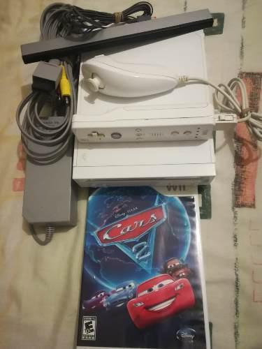 Consola wii seminueva retrocompatible con game cube y juego